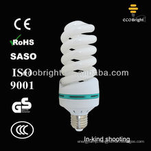 Hot Sale! full spiral energy saving lamp bulb 6000H CE QUALITY