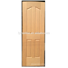 natural wood door board skin moulded door skin melamine  wood veneer door skin