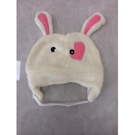 Animal Flannel Cute Long Ear  Winter hat