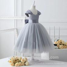 Vestido de noiva para crianças exclusivo e respirável vestido de festa vestido de festa ED613