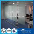 6mm-12mm milk white laminated glass for office