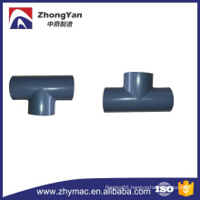 Manufactory pvc pipes and fittings tee, pvc pipe fitting tee price for water,oil,gas