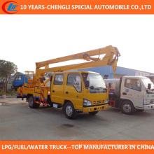 Camion à godets haute plate-forme camion 16m à vendre