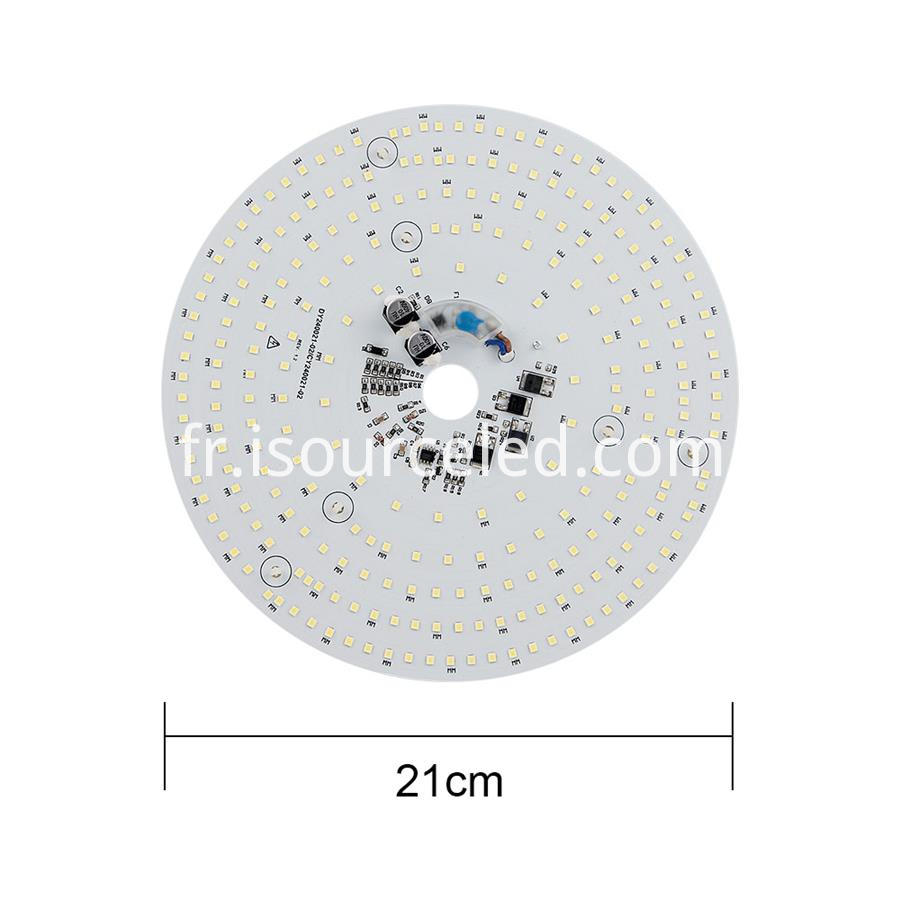 Ac linear round Dimming 24W Aluminum Base PCB full size picture