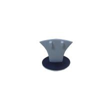 Белый синий кожа PU MDF серьги ювелирных организатор (BT-R1)