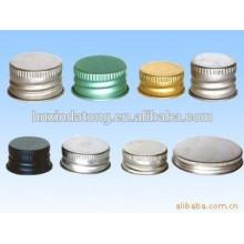 Dos aceite que cubre la materia prima de aluminio para el cierre del metal
