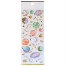 Etiqueta engomada de la resina de epoxy del cristal del unicornio 3d de la historieta del teléfono de Kawaii