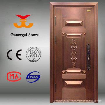 Porte extérieure en cuivre de haute qualité