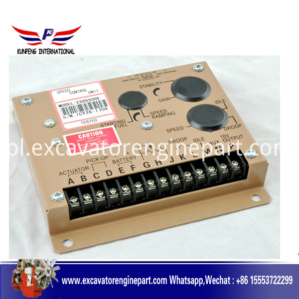 Engine Speed Control Unit Controller ESD5500E
