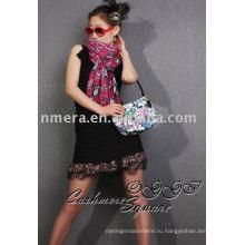 Женские жилетки питона напечатанные кашемировый платок / платок