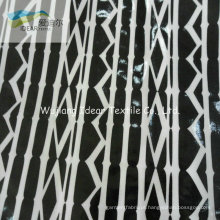 PVC laminado de tecido de algodão impressa para estofos