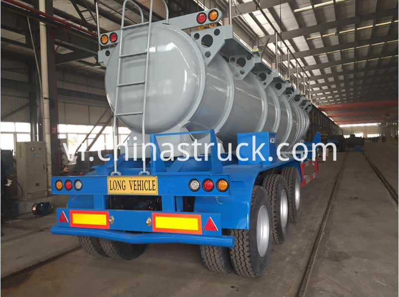 20,000 Liters sulfuric acid tanker semi-trailer