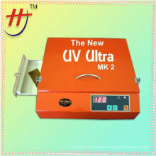 Mini portable photopolymer plates exposure unit with drawer
