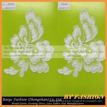 De alta qualidade Africano Guipure Lace tecido poliéster Lace Flower Bordado francês laço CM184B