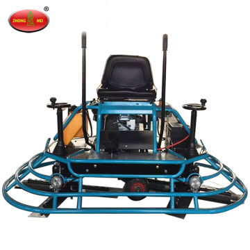 Gasoline Ride On Concrete Power Trowel Machine