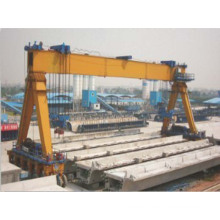Single Girder Straddle Carrier with SGS