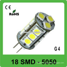 12V led boat light G4 5050 led lamps 18 SMD
