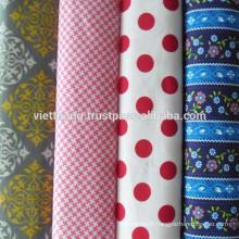 """100% coton tissé / blanchissant / uni / largeur: 63 """"/ poids: 133 g / m2"""
