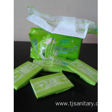 China for Bamboo Fiber Sanitary Napkins Ultra Thin Mesh Sanitary Napkins supply to Liberia Wholesale