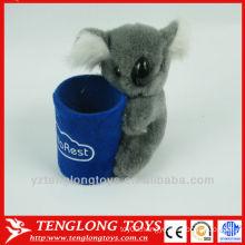 Plush koala toy custom pen holder