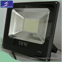 Литой алюминий 50W светодиодный свет потока