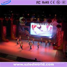 P6 farbenreiche LED-Innenbildschirmanzeige für örtlich festgelegtes