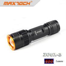 Maxtoch ZO6X-3 T6 Zoom chargeur lampe de poche