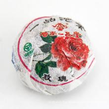 Detox Slim Tea Rose Flavor Mini Pu'er Slimming Tea for Losing Weight