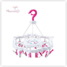 PP Plastic Hanger with 24PC Clips (41*30cm)
