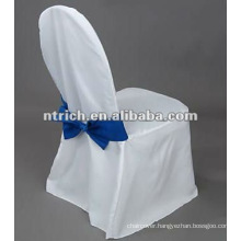 100% Polyester Chair Covers with self tie back sash
