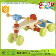 2015 OEM приветствуется твердой древесины автомобиля игрушки Деревянный трейлер для продажи