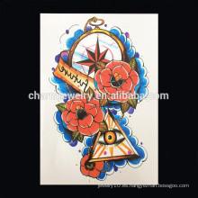OEM Venta al por mayor tatuaje decorativo popular tatuaje extraño brazo tatuaje extraño brazo W-1030