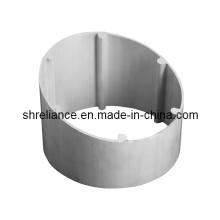 Tube profilé d'extrusion en aluminium / aluminium (RAL-216)