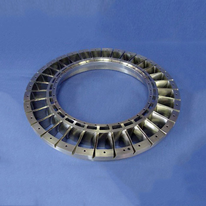 CNC Milling Titanium Impeller Parts for Aviation