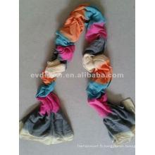 Robe en écharpe en polyester de mode populaire de haute qualité