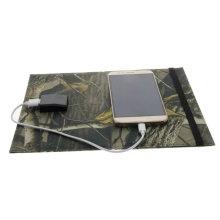 Paquet de sac de chargeur d'énergie solaire pliable de livre électrique d'iPad de téléphone portable de 10W
