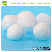 CE FDA ISO Aprobado Consumibles Médicos Desechables Hechos En China Absorbente Gauze Balls