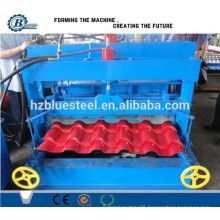 Steps Tile Roofing Sheet Roll Forming Machine, Hydraulic Automatic Roofing Panel Forming Machine