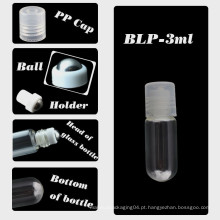 1ml rolo de vidro em garrafa rolo bola garrafa de vidro garrafa de perfume garrafa de óleo essencial