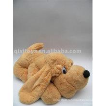 большие плюшевые лежа игрушка собака
