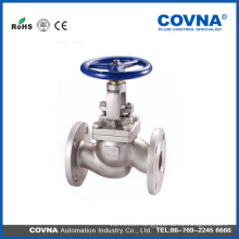 Good quality Flange type SS304 ANSI class 300 Rising Stem Globe Valve with best price