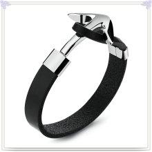 Schmucksache-Art- und Weiseleder-Schmucksache-Leder-Armband (LB612)