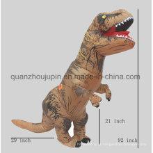 Traje inflável do terno do dinossauro do festival quente feito sob encomenda da venda