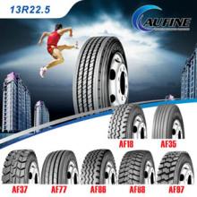 Neumático para camiones pesados, Neumáticos de caucho sin cámara, Neumático para remolque (13R22.5)