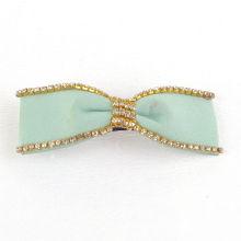 Fashion Hair Jewelry / Ribbon Hair Clip / Diamond Hair Clip (XHB1422)