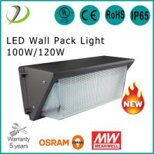 Uso en exteriores LED WALL Pack 120W