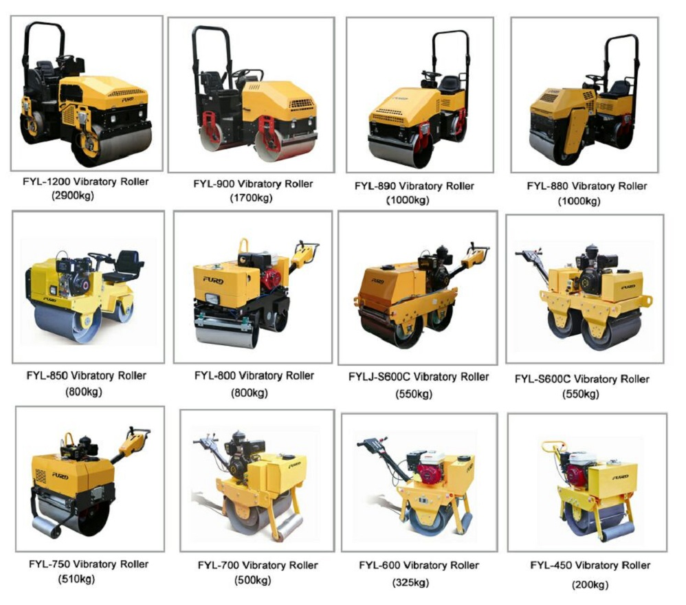 Hand Operated Mini Road Roller Compactor