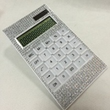 12 Digit Decorated Crystal Bling Calculator