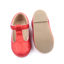 Meninas Partido Natal Glitter Baby Dress Shoes