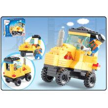 Modelo de carro brinquedo blocos de conexão